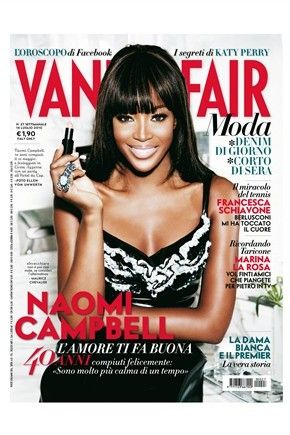 Naomi Campbell - Vanity Fair Magazine [Italy] (5 July 2010)