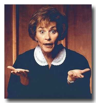 Judge Judy What?