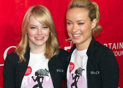Emma Stone & Olivia Wilde Get Sporty for Women's Health