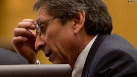 Juan Martinez  Looking A Little Stressed Out in the Court Room