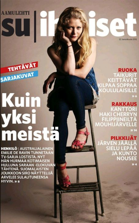 Emilie de Ravin - OTHER Magazine Cover [Finland] (22 January 2012)