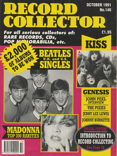 George Harrison - Record Collector Magazine [United Kingdom] (October 1991)