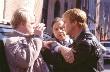 Philip Seymour Hoffman, Harvey Keitel and Edward Norton in Universal's Red Dragon - 2002