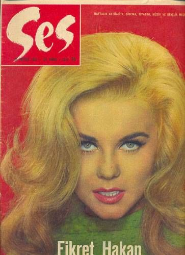 Ann-Margret - Ses Magazine Cover [Turkey] (26 June 1965)