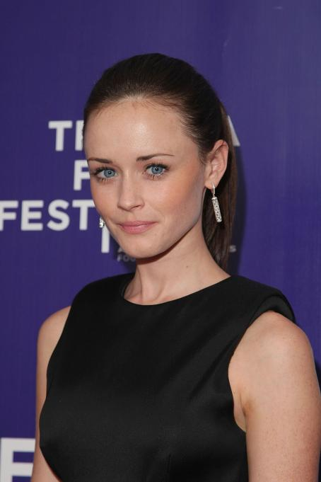 "Alexis Bledel attends the premiere of ""The Good Guy"" during the 2009  Tribeca Film Festival at SVA Theater on April 26, 2009 in New York City"