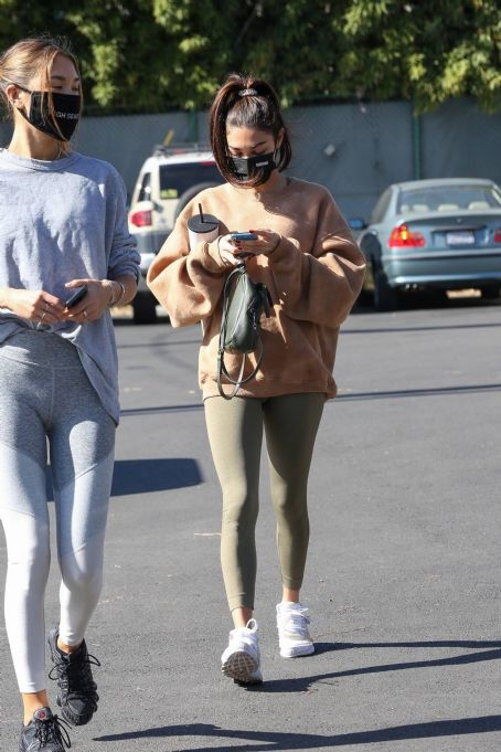 Chantel Jeffries – seen at Dogpound with a friend in Los Angeles