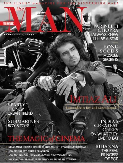 Imtiaz Ali - The Man Magazine Cover [India] (August 2012)