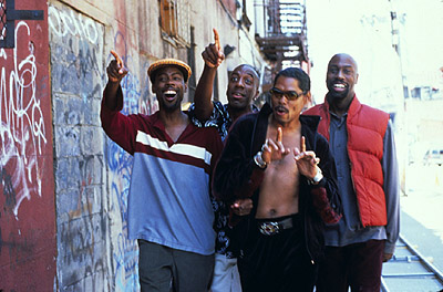 J.B. Smoove Chris Rock, , Lance Crouther and Mario Joyner in Paramount's Pootie Tang - 2001