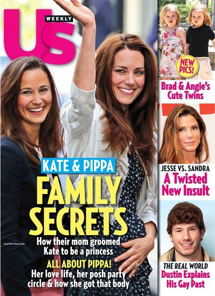Pippa Middleton, Kate Middleton - US Weekly Magazine Cover [United States] (9 May 2011)