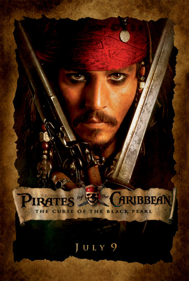 Jack Sparrow Pirates of the Caribbean (2003)