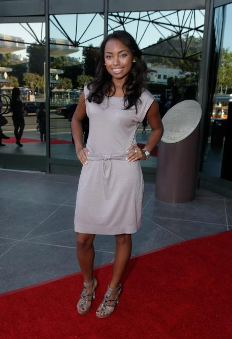 Logan Browning - 20 Annual NAACP Theatre Awards In LA - August 30, 2010