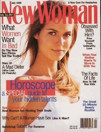 Heidi Klum - New Woman Magazine [United States] (July 1995)