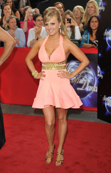 Tina O'Brien - 'Strictly Come Dancing' Season 8 Launch Show At BBC Television Centre On September 8, 2010 In London, England