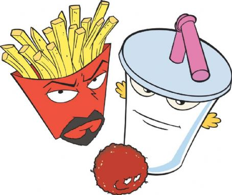Aqua Teen Hunger Force Colon Movie Film for Theaters  (2007)