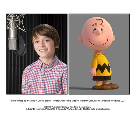 Noah Schnapp - The Peanuts Movie (2015)