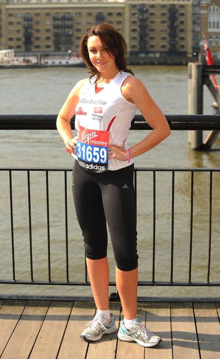 Michelle Heaton - Photocall For The Virgin London Marathon, 23 April 2010