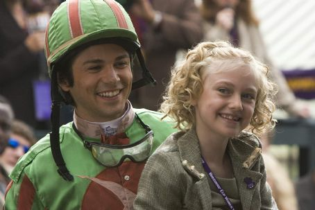Cale Crane Freddy Rodriguez (Mandelo) and Dakota Fanning () in 2005 Dreamer: Inspired by a True Story