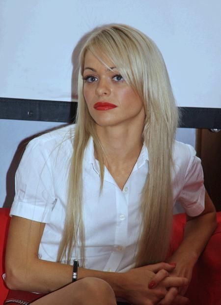Anna Khilkevich Maria Belova in the series-sitcom