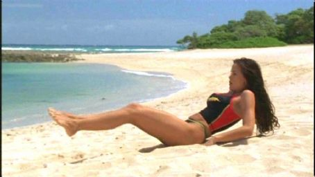 Stacy Kamano as Kekoa in Twentieth Century Fox's Baywatch: Hawaiian Wedding - 2003