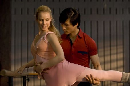 Amanda Schull  as Liz and Chi Cao as Li in MAO'S LAST DANCER. Photo Credit: Simon Cardwell / Samuel Goldwyn Films