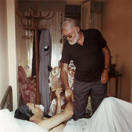 Ernest Hemingway  and Luis Miguel Dominguin, Spain, 1959