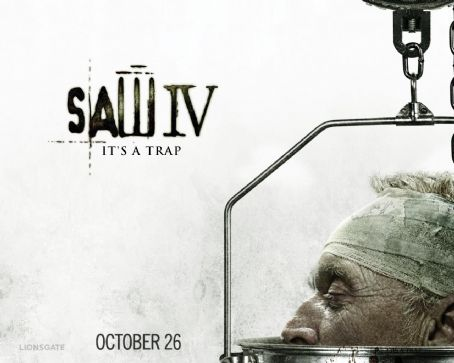 Tobin Bell - Saw IV Wallpaper