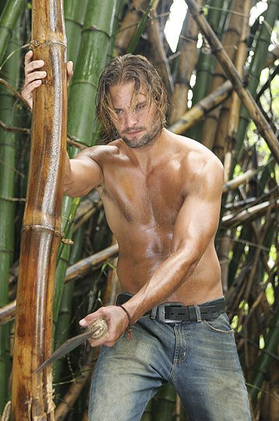 "Josh Holloway As James ""Sawyer"" Ford In Lost"