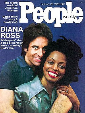 Diana Ross and Robert Ellis Silberstein