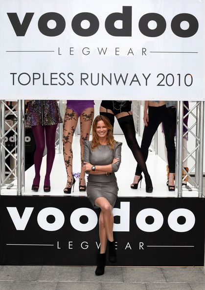 Charlotte Dawson  Hosts 'Topless' Runway Show In Sydney
