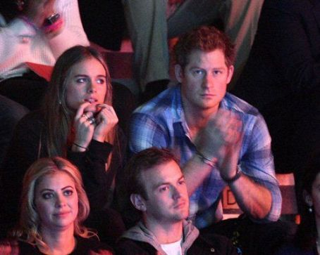 Cressida Bonas Prince Harry and  at We Day UK (March 7)
