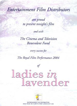 Ladies in Lavender. - Ladies in Lavender