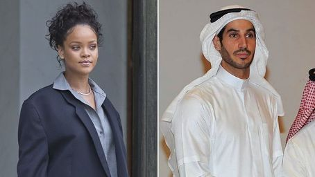 Rihanna Kissed Hassan Jameel & Sat On His Lap During PDA Filled Halloween Bowling Bash