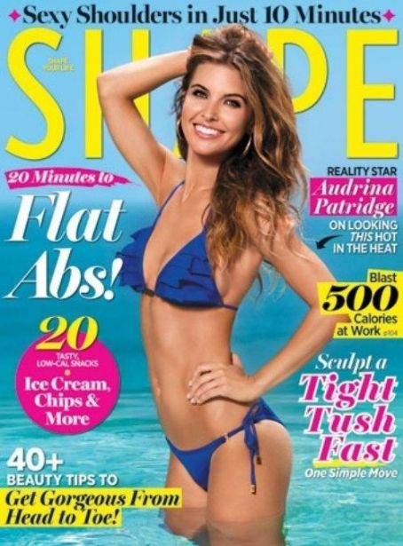Audrina Patridge - Shape Magazine Cover [United States] (July 2011)