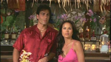 Michael Bergin Stacy Kamano plays Kekoa in Twentieth Century Fox's action movie Baywatch: Hawaiian Wedding - 2003