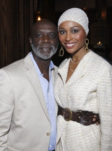 Nia Long and Peter Thomas