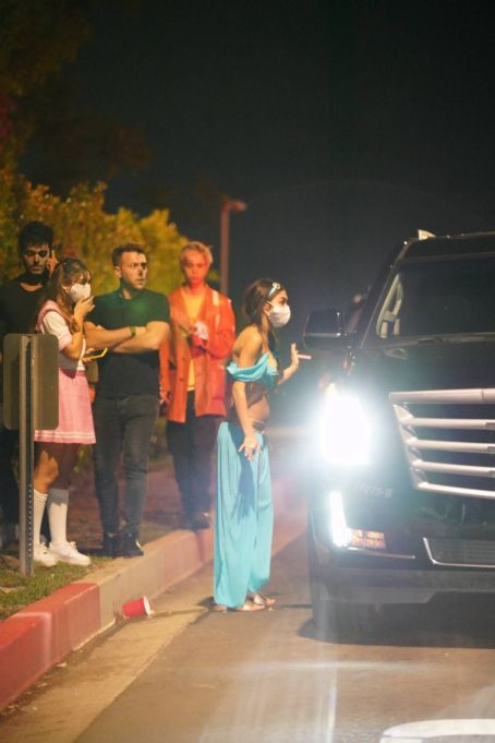 Chantel Jeffries – Leaving an exclusive Halloween Party in Los Angeles