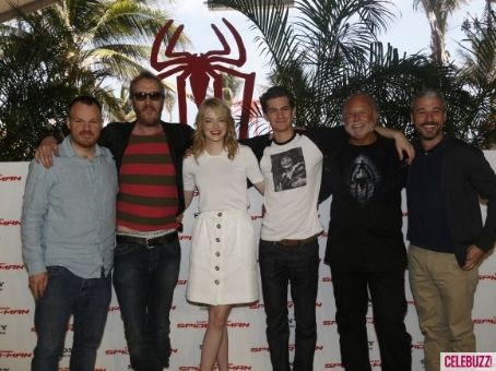 Andrew Garfield and Emma Stone hit up Cancun, Mexico to attend a photocall for their brand new film The Amazing Spider-Man