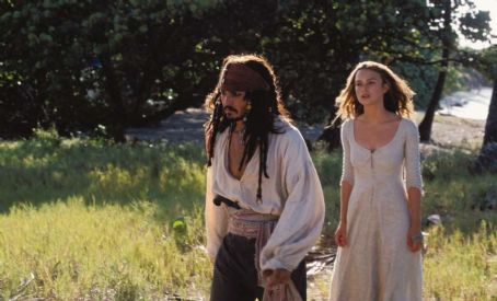 Jack Sparrow Pirates of the Caribbean: The Curse of the Black Pearl (2003)