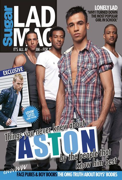 Aston Merrygold - Sugar LADMAG Magazine [United Kingdom] (April 2010)