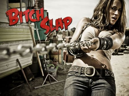America Olivo Bitch Slap Wallpaper