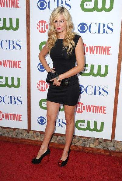 Beth Behrs CBS, The CW & Showtime's 2011 TCA Party - Arrivals
