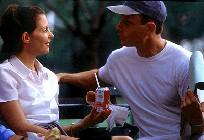 Tony Goldwyn SOMEONE LIKE YOU: Ashley Judd and the director , 2001,