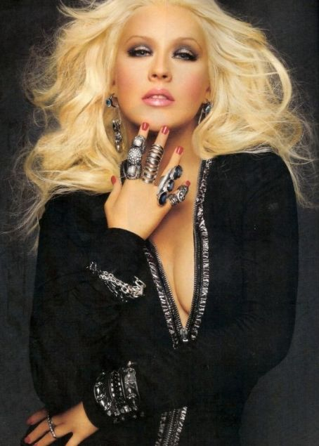 Christina Aguilera Latina Magazine March 2012