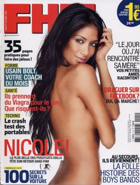 Nicole Scherzinger - FHM Magazine Cover [France] (October 2008)