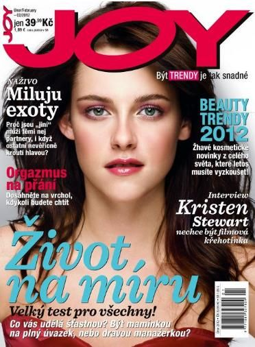 Kristen Stewart - Joy Magazine Cover [Czech Republic] (February 2012)