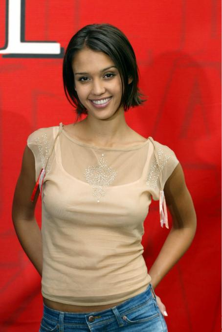 Jessica Alba - Promoting Dark Angel In Germany