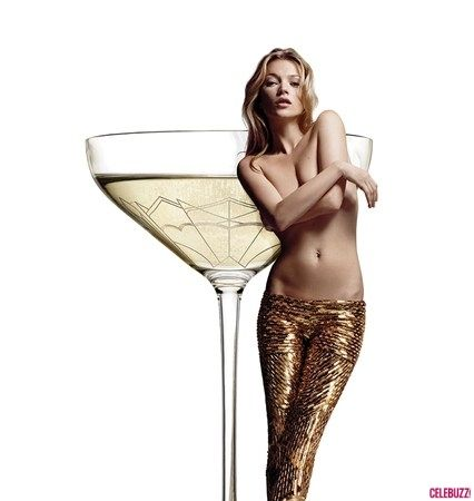 You Can Drink Champagne From Kate Moss' Breast