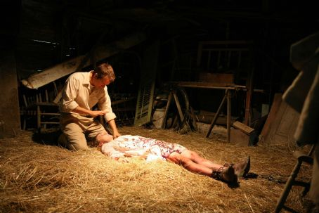 Patrick Fabian Cotton Marcus () and Nell Sweetzer (Ashley Bell) in THE LAST EXORCISM. Photo credit: Patti Perret