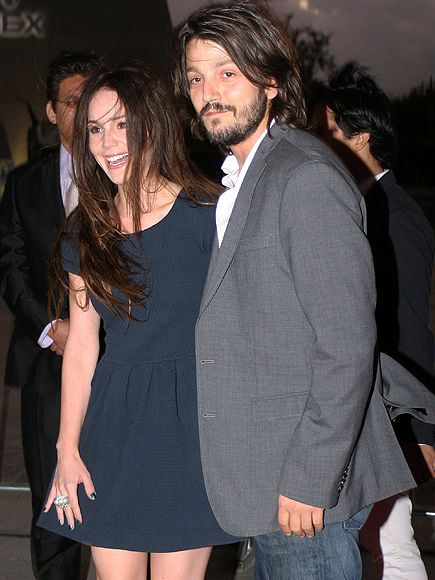 Diego Luna and Camila Sodi