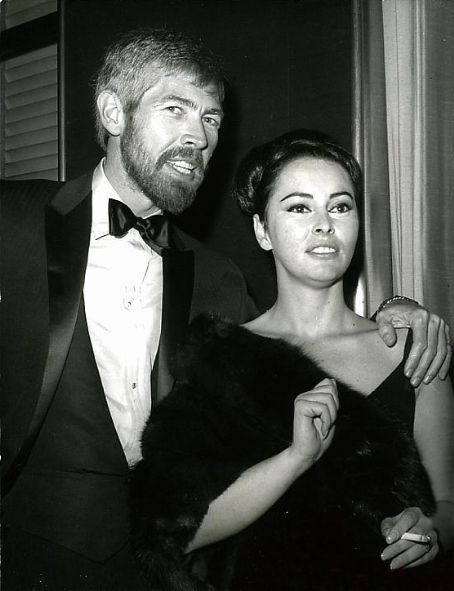James Coburn and Beverly Kelly